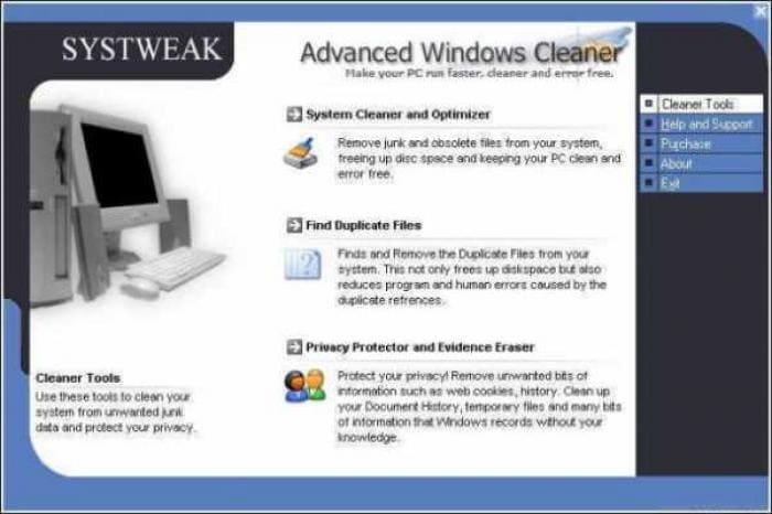 Advanced Windows Cleaner