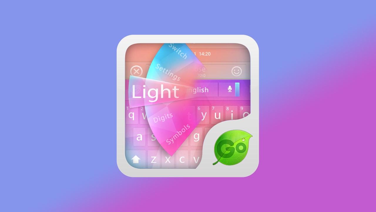 GO Keyboard Light Theme