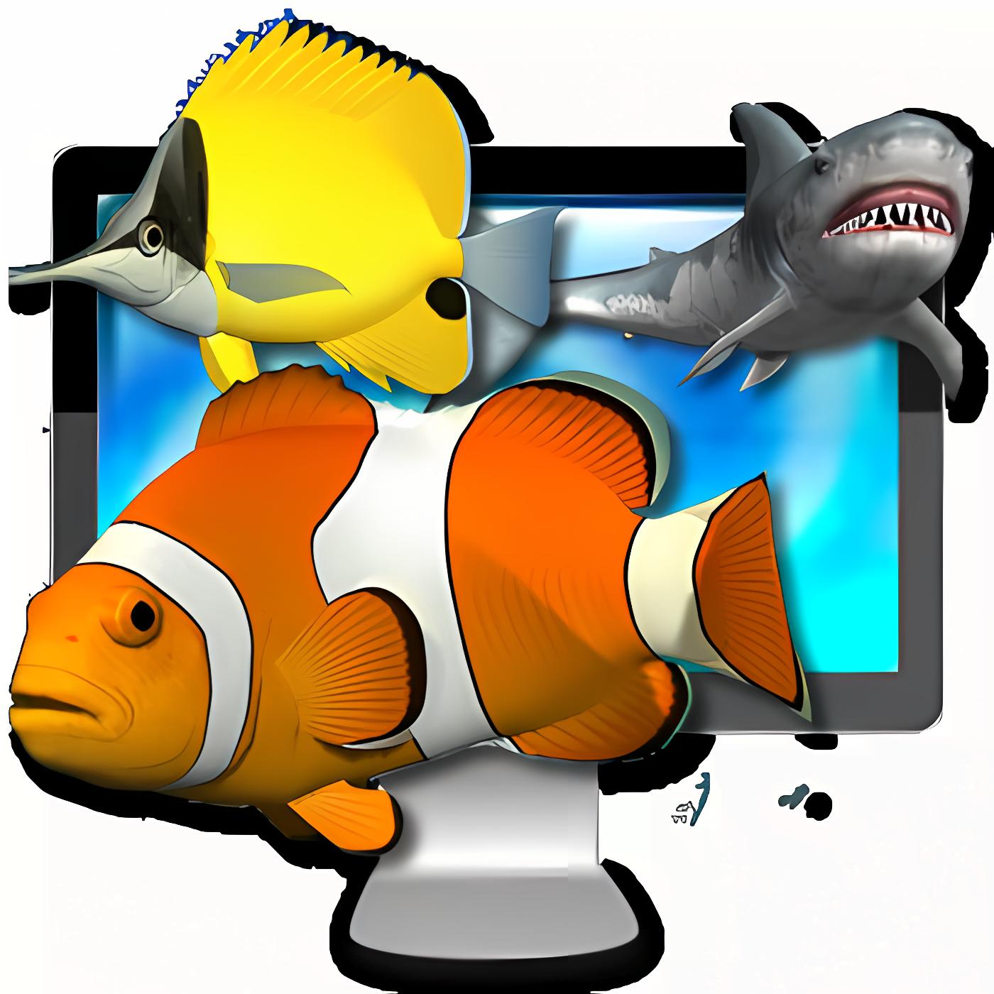 Desktop Aquarium 3D LIVE Wallpaper & ScreenSaver 1.9