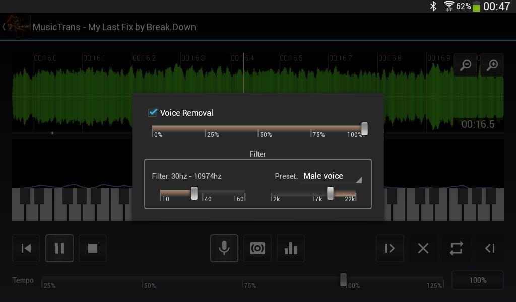 MusicTrans for Linux 64 bit