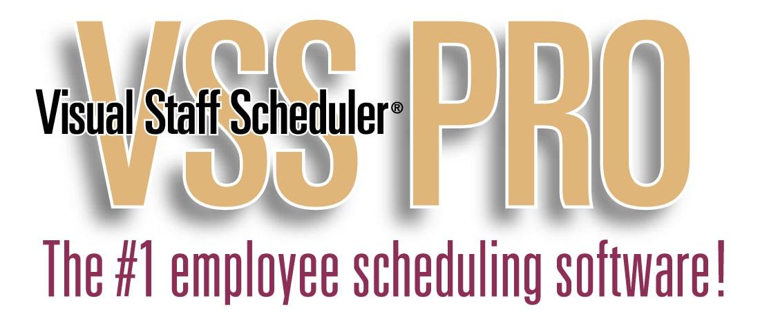 Visual Staff Scheduler Pro (VSS Pro)