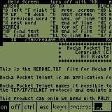 Mocha Pocket Telnet
