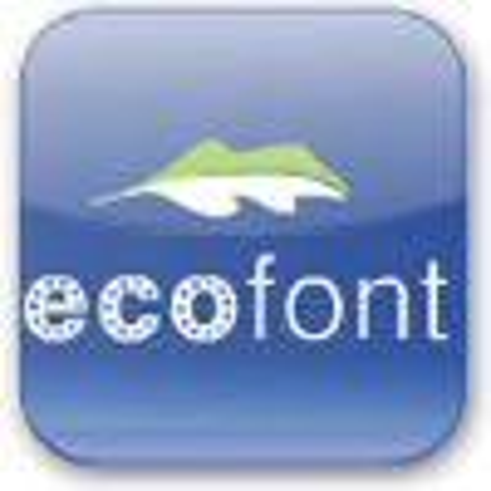 Ecofont