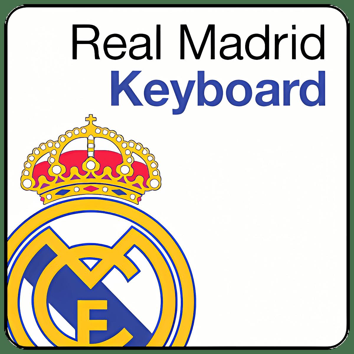 Teclado del Real Madrid CF 3.0.58.362