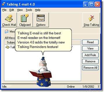 Talking E-mail
