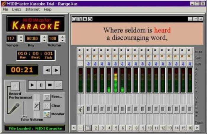 MIDIMaster Karaoke