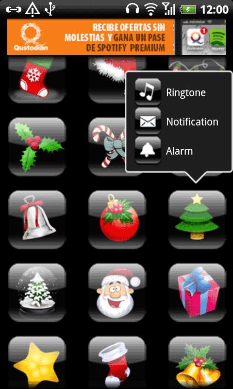 Android Christmas Ringtones