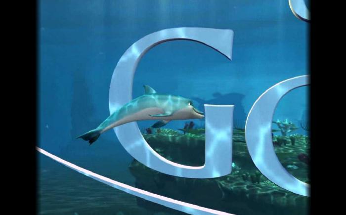 O Golfinho Protetor de tela