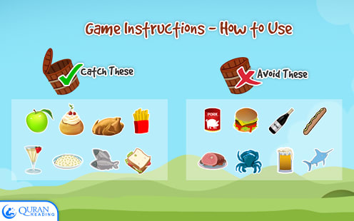 Catch It Halal - Kids Game
