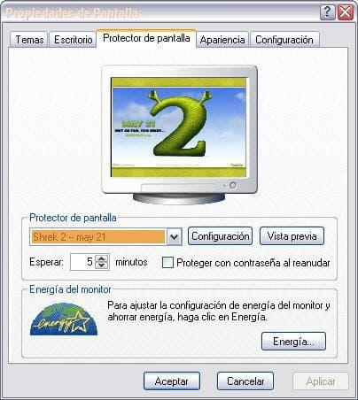 Shrek 2 Screensaver