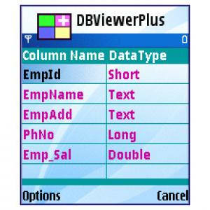 Mobile Database Viewer Plus