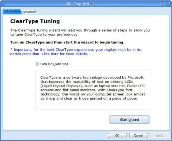 Cleartype Tuner Powertoy