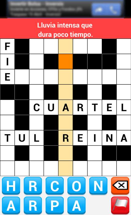 Crucigrama Español