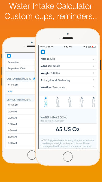 WaterMinder® - Water Hydration Reminder & Tracker