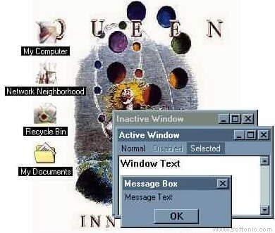 Queen Desktop Theme