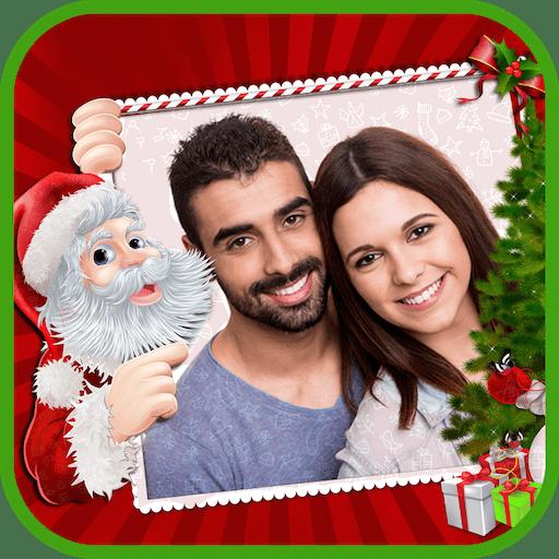 Happy Christmas Photo Frames