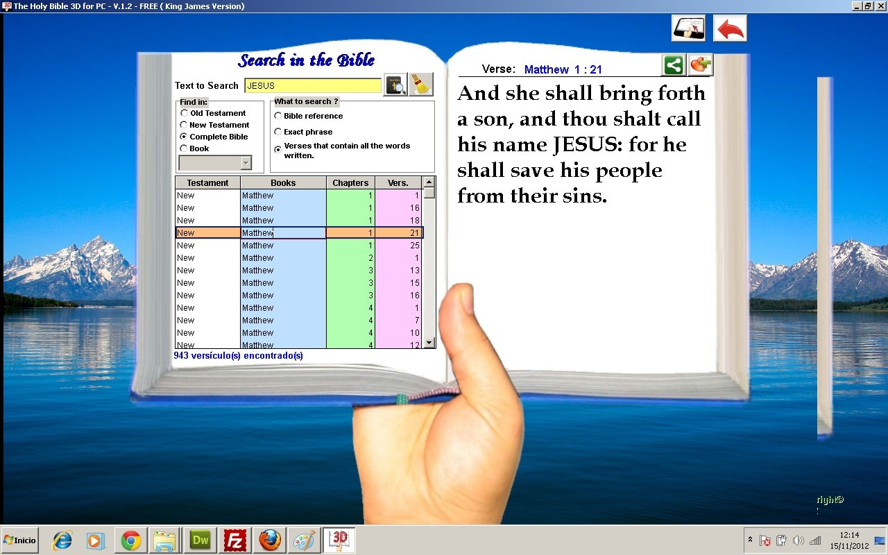 New International Version Bible - Read Free Online