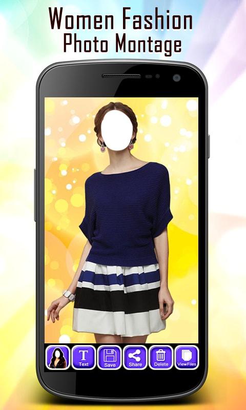 Women Fashion Photo Montage