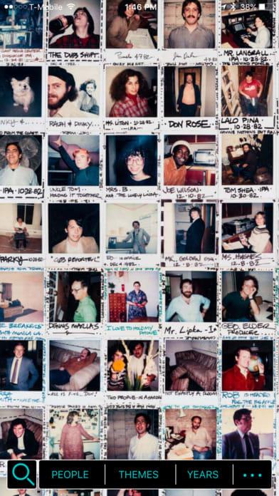 The Polaroid Wall