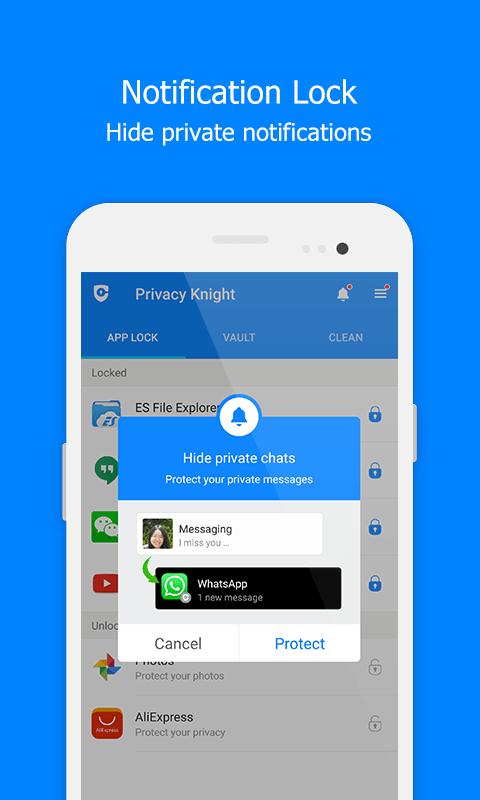 Free App Lock - Privacy Knight