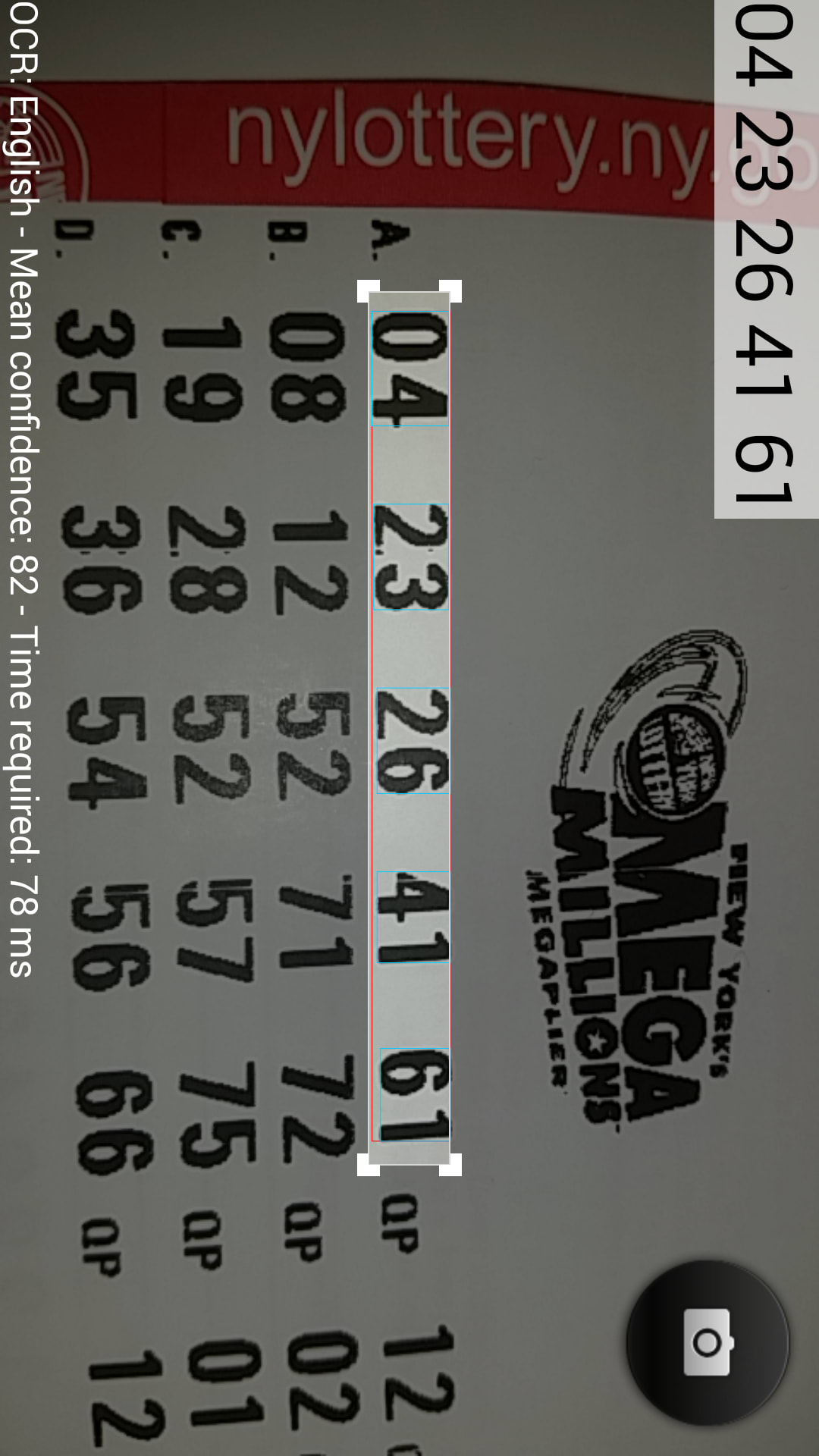 Lottery Ticket Checker