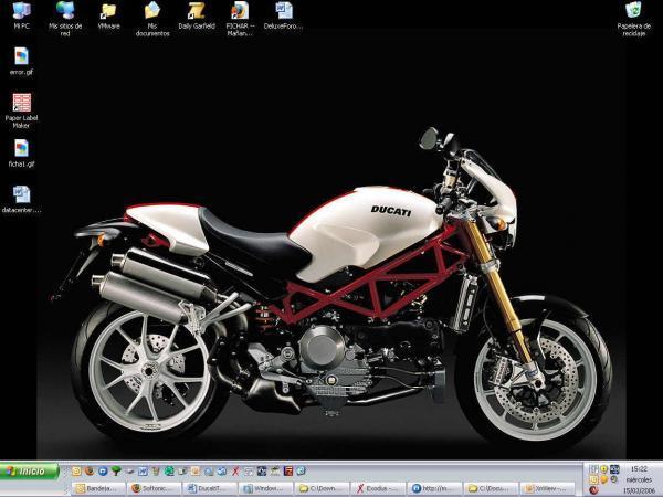 Ducati Monster S4Rs Testastretta Wallpaper