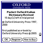 Pocket Oxford Italian Dictionary