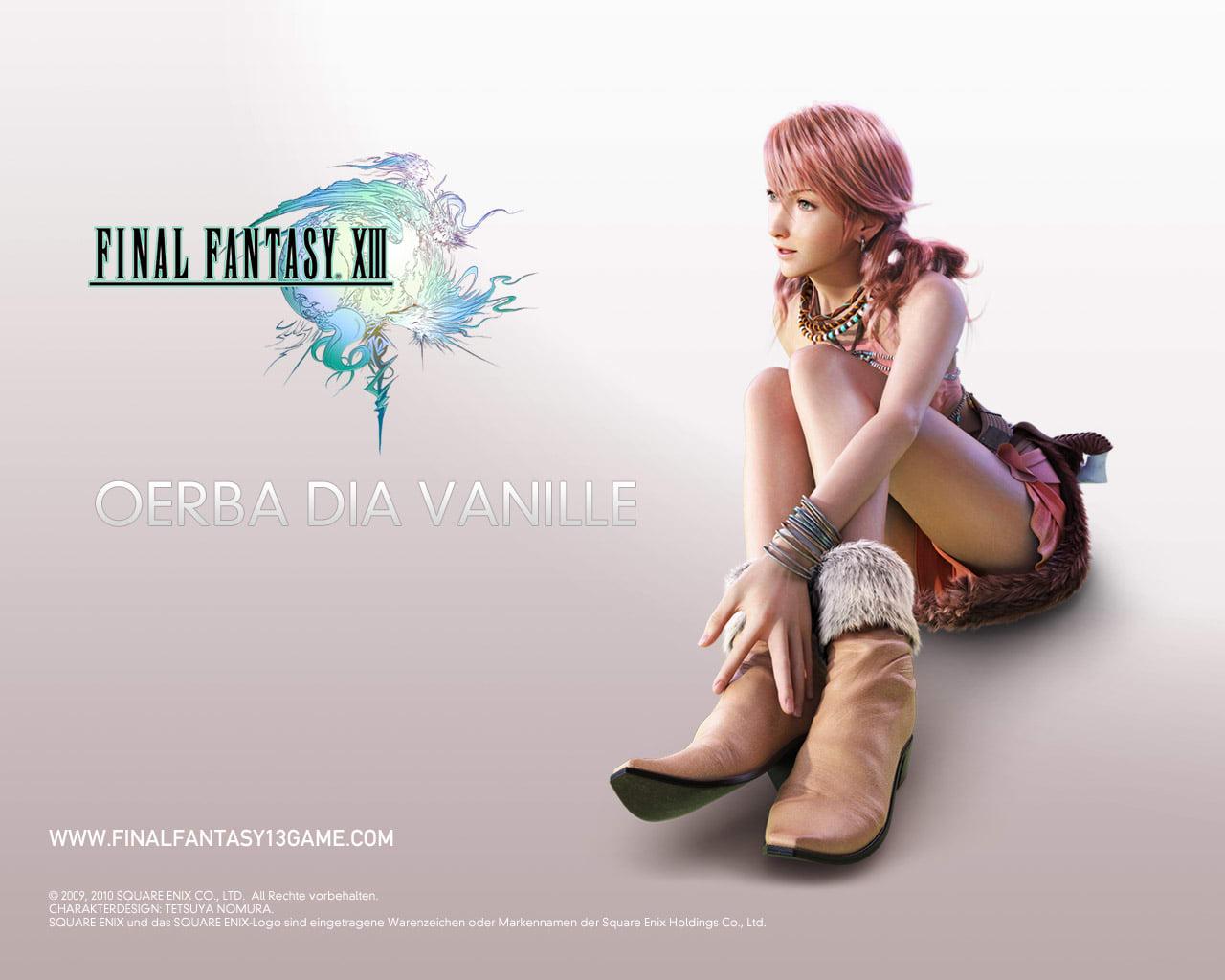 Final Fantasy 13 Wallpaper: Oerba Dia Vanille
