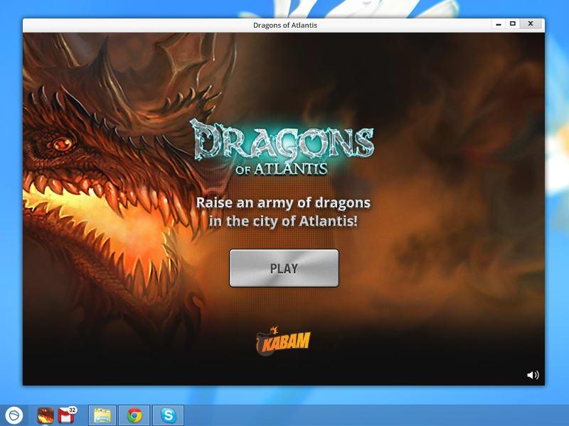 Dragons of Atlantis for Pokki
