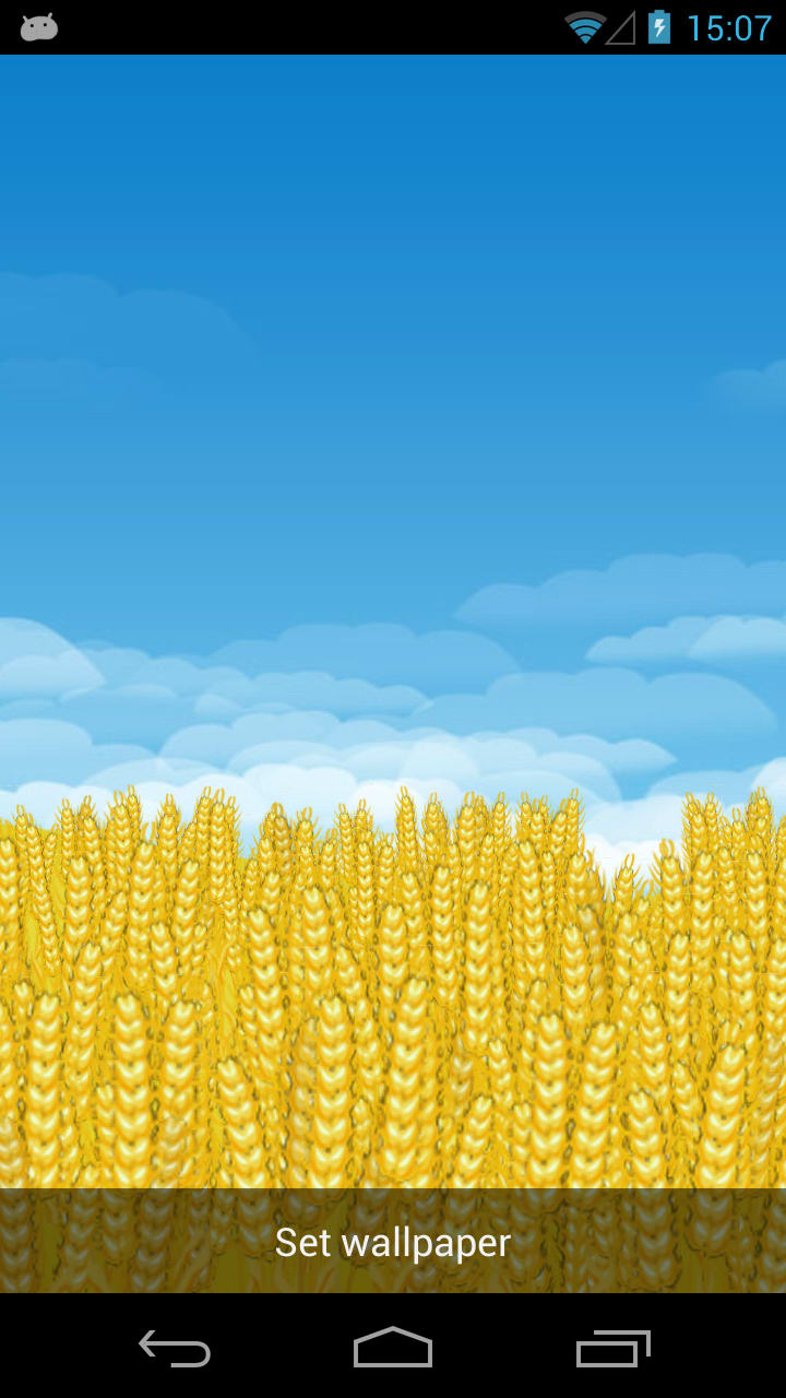 Wheat Field 3D Live Wallpaper