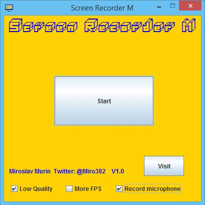 M Screen Recorder