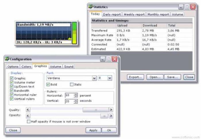 NET Traffic Meter