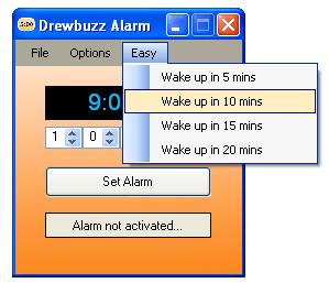 Drewbuzz Alarm
