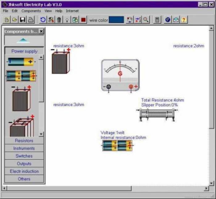 Jhksoft Electricity Lab