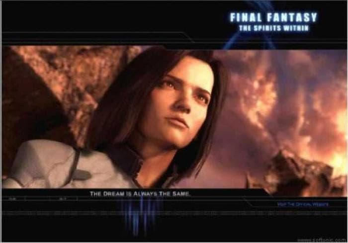 Final Fantasy: The Spirits Within Screen Saver