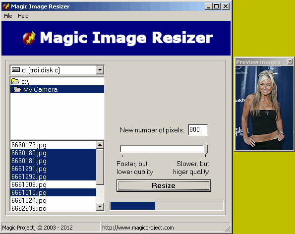Magic Image Resizer