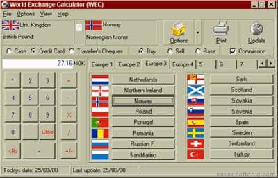 A1 World Exchange Calculator