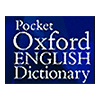 Pocket Oxford English Dictionary und MSDict Viewer