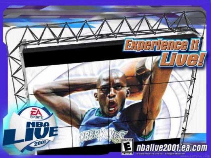NBA Live 2001 Wallpaper