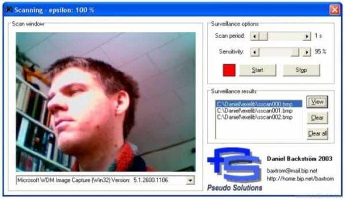 Surveillance Scan
