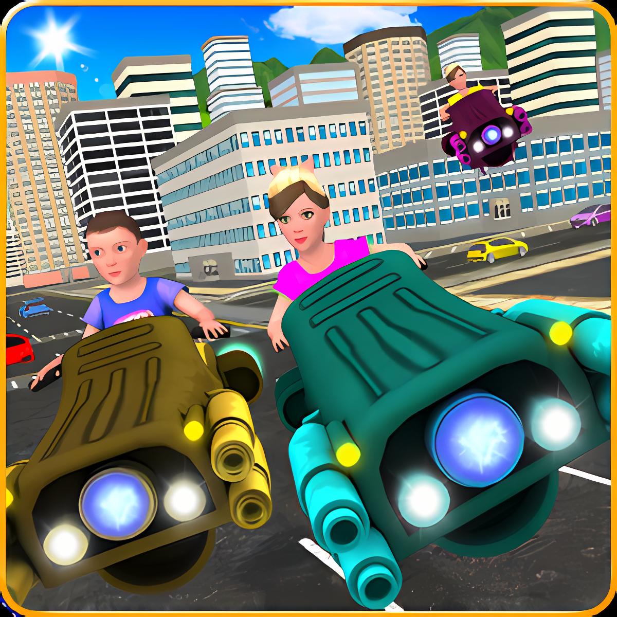 Kids Hover Craft Speed Racing