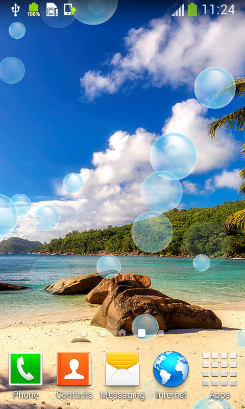 Tropical Beach Live Wallpapers