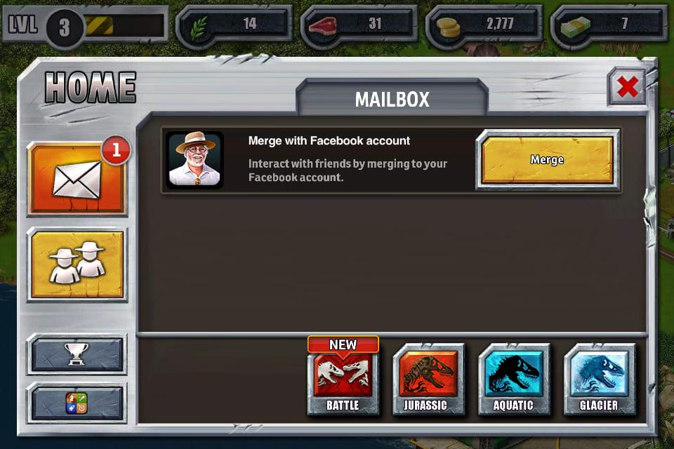 Jurassic park builder pour android t l charger - Telecharger jurassic park 4 ...