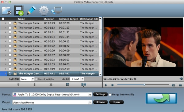 iFastime Video Converter Ultimate for Mac