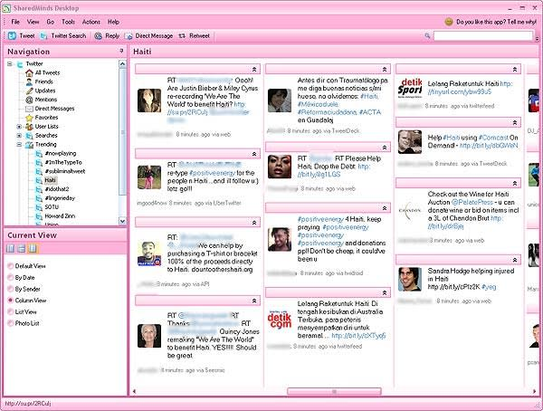 SharedMinds Desktop