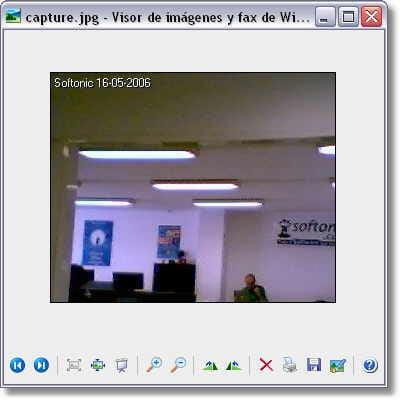 Simple Webcam Capture