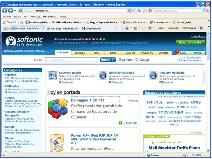 Internet Explorer 8 Descargar