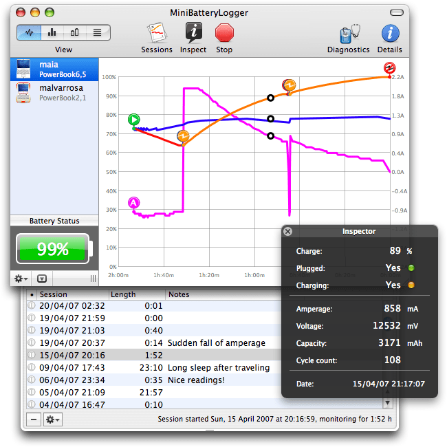 Download Battery Health Monitor For Mac Free Latest