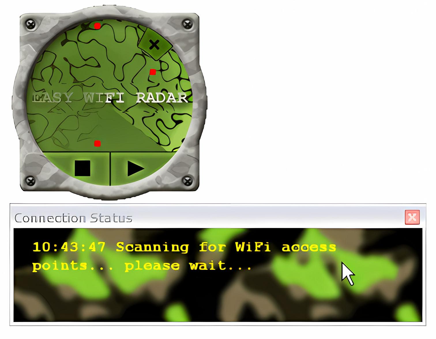 Easy WIFI Radar