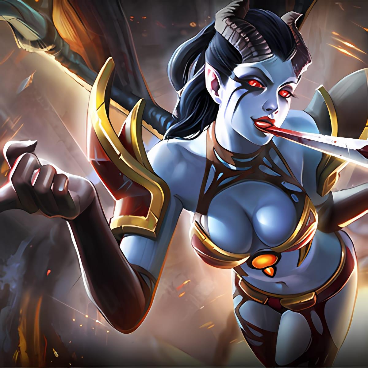 Dota 2 female heroes HD wallpapers pack